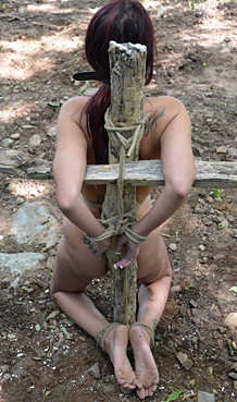 hard tied women